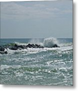 June Surf Metal Print