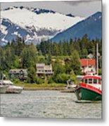 Juneau, Alaska, Usa Metal Print