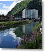 Juneau Federal Building Metal Print