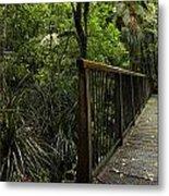 Jungle Bridge Metal Print