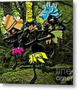 Jungle Dancers Metal Print