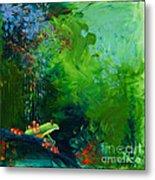 Jungle Rains I Metal Print by Tracy L Teeter
