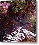 Jungle Red Tints Metal Print
