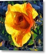 Jungle Rose Metal Print