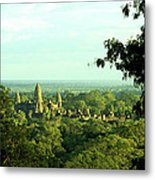 Jungle Temple 01 Metal Print