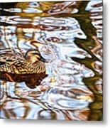 Jungle Water Metal Print