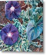 Juniper And Flowers Metal Print