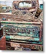 Junk Or Treasure Metal Print