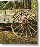 Junk Wagon Metal Print