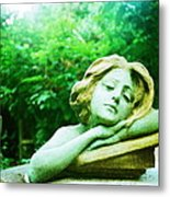 Junkyard Angel Metal Print