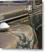 Junkyard Series Old Plymouth Metal Print