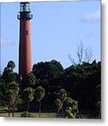 Jupiter Inlet Lighthouse Metal Print