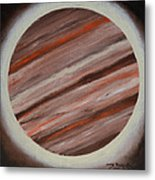 Jupiter Spectral Metal Print