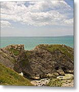 Jurassic Coast At Lulworth Metal Print