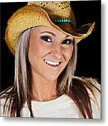 Just A Country Girl Metal Print