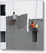 Just A Jump To The Left Metal Print