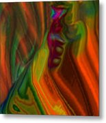 Just A Thought II Metal Print