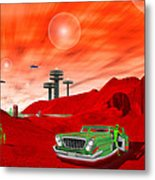 Just Another Day On The Red Planet 2 Metal Print