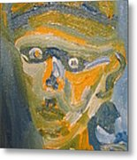 Just Another Face Metal Print by Shea Holliman