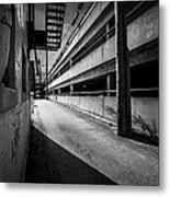Just Another Side Alley Metal Print