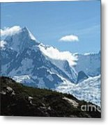 Just Another Snow-capped Mt Metal Print