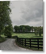 Just Around The Bend Metal Print by Tanya Jacobson-Smith