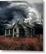 Just Before The Storm Metal Print by Aimelle