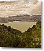 Just Before The Storm - Ardales Metal Print