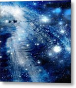 Just Beyond The Moon Metal Print