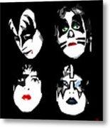 Just One Kiss Metal Print