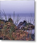 Just Over The Rocks Metal Print