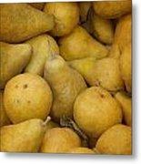 Just Pears Metal Print