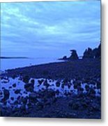 Just The Right Tide Metal Print by Sheldon Blackwell