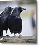 Just The Two Of Us Metal Print