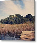 Just To Make This Dock My Home Metal Print by Laurie Search