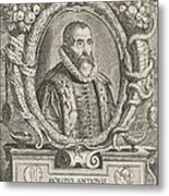 Justus Lipsius, Belgian Scholar Metal Print by Photo Researchers