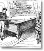 Juvenile Delinquency, 1881 Metal Print