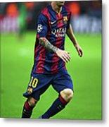 Juventus V FC Barcelona  - Uefa Metal Print