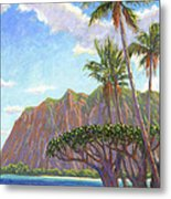 Kaaawa Beach - Oahu Metal Print