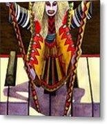 Kabuki Chopsticks 1 Metal Print