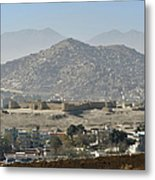 Kabul City View, Afghanistan Metal Print