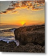 Kaena Point Sunset Metal Print