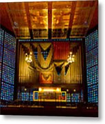 Kaiser Wilhelm Church Organ Metal Print