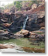 Kakadu Waterfall Metal Print