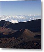 Kalahaku Overlook Haleakala Maui Hawaii Metal Print