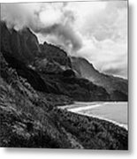 Kalalau Trail Metal Print