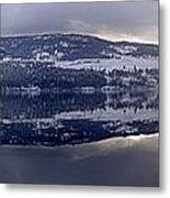 Sunset Kalamalka Lake - British Columbia Metal Print
