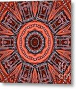 Kaleidoscope 40 Metal Print