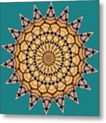 Kaleidoscope 7 Metal Print