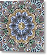 Kaleidoscope 73 Metal Print